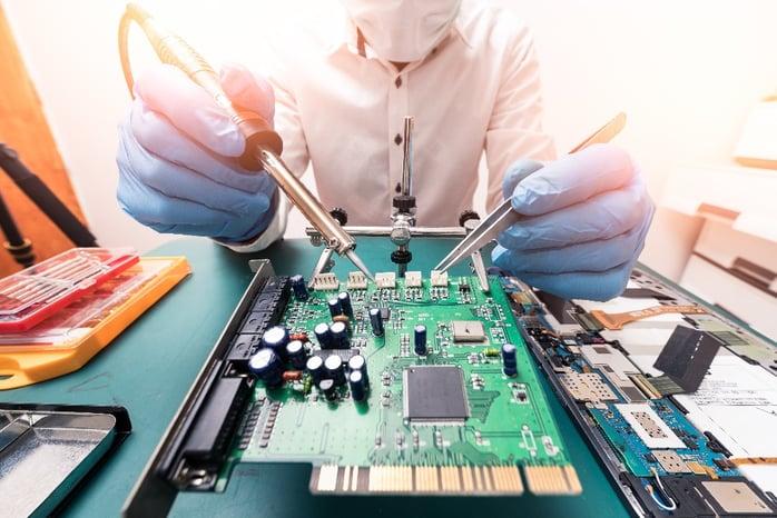 Assemble of printed circuit board